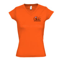 Lady T-shirt V neck small logo  Thumbnail