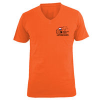 Men T-shirt V neck small logo  Thumbnail